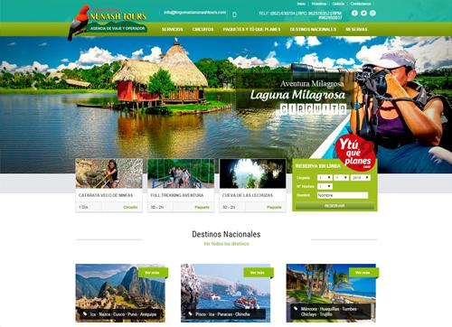 Webmype dise o y desarrollo de p gina web for Paginas web sobre turismo